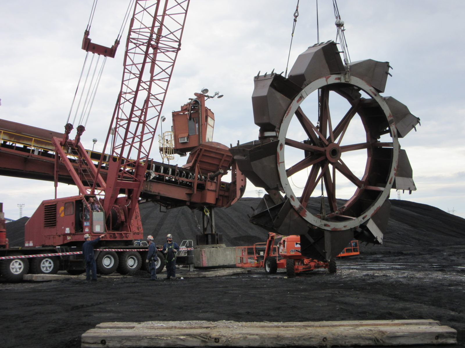 Bucketwheel Shaft and Bearing Replacement