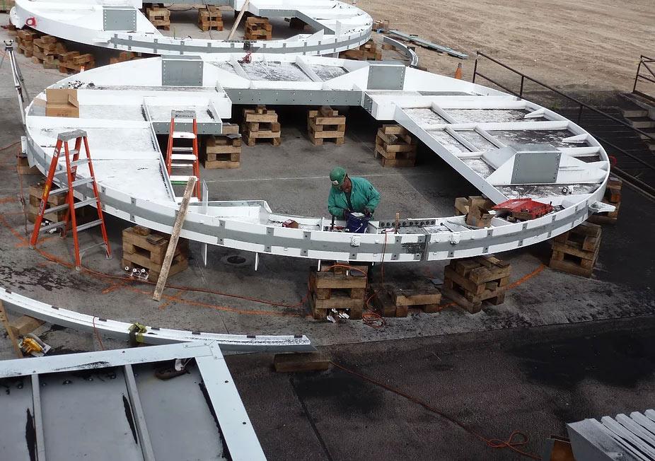 Assembling Dumper End Rings for Installation