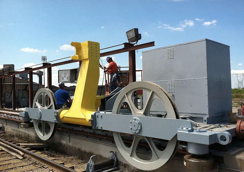 Rebuilt Train Positioner Carriage