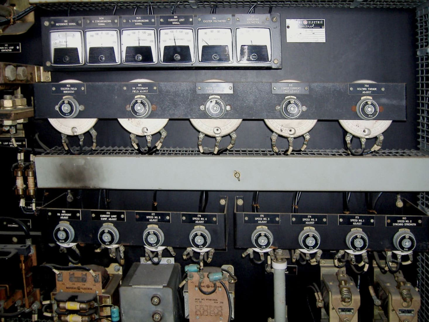 Bulk Materials Handling Equipment Vintage Motor Controller