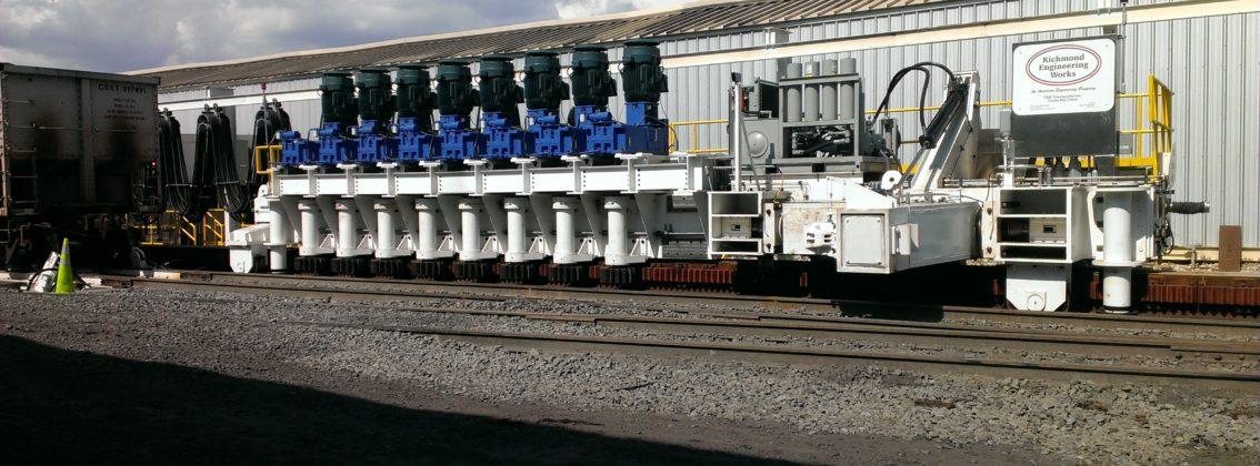 Rack & Pinion Train Positioner