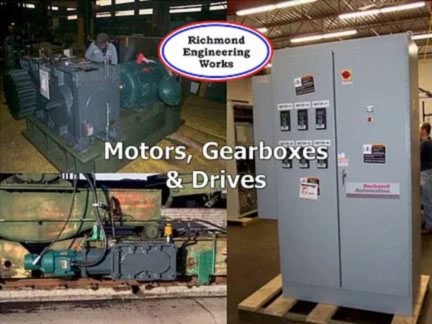 Motors Gearboxes and Drives