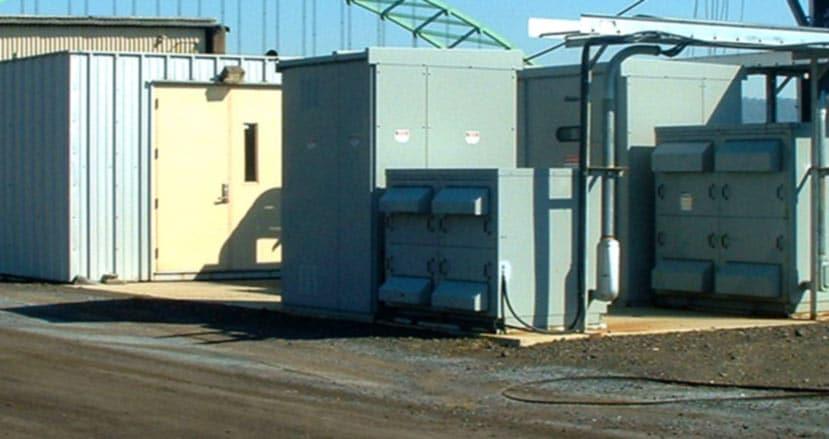 Grab Unloader Control House