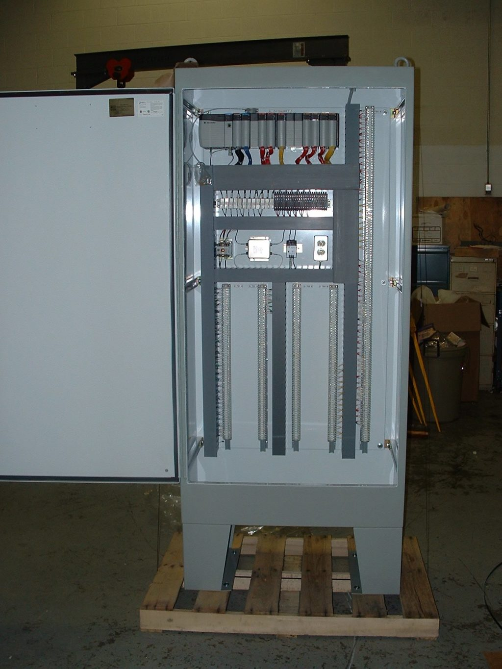 Control Panel for Bulk Material Handling Equipment