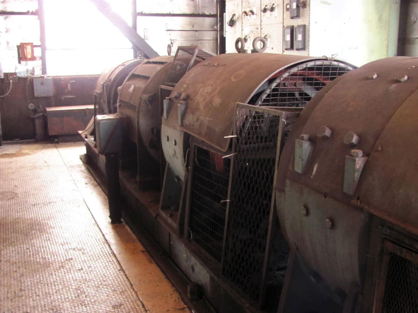 Grab Unloader Vintage Motor Controller