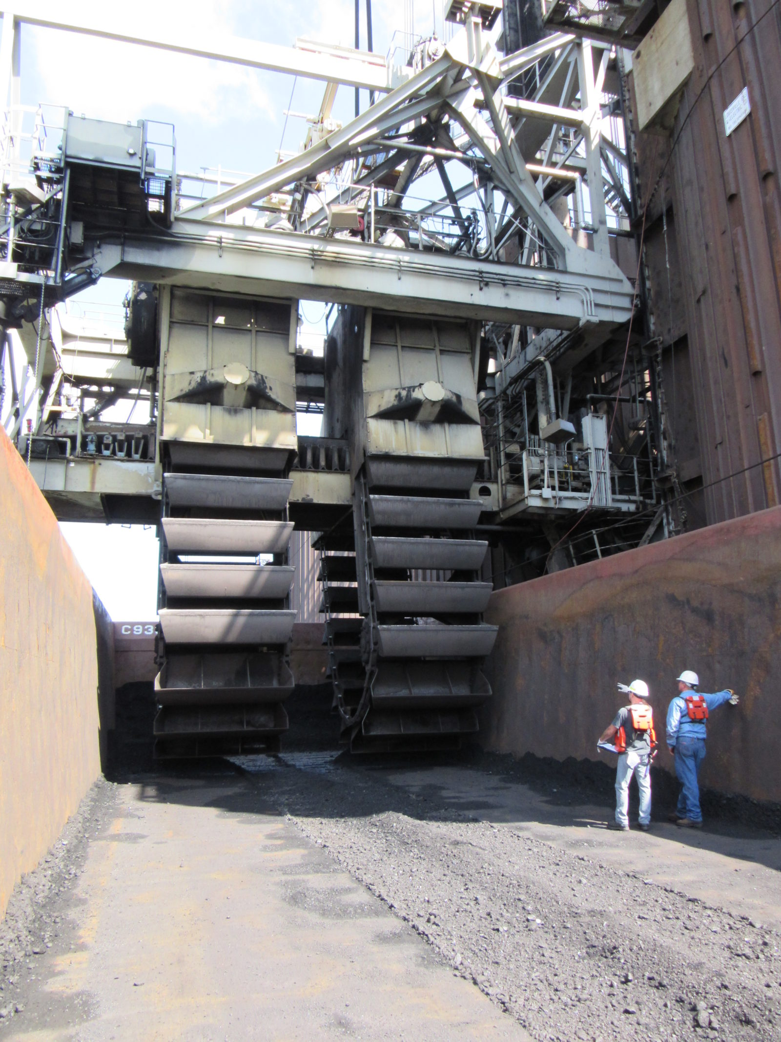 Continuous Barge Unloaders Richmond Engineering Works