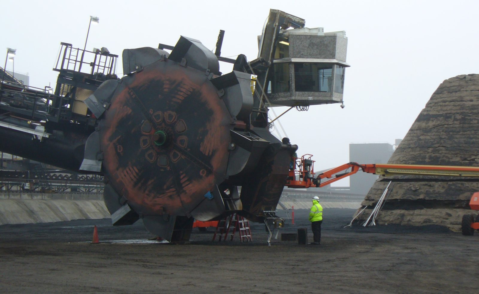 Stacker Reclaimer Bucket Wheel