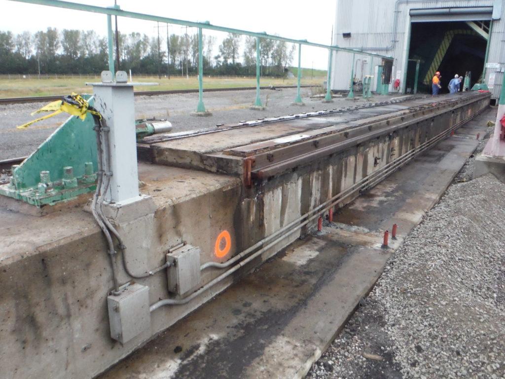 Railcar Positioner Runway