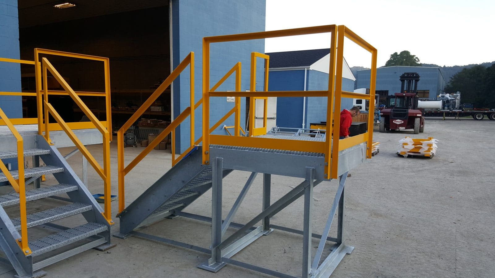 Platform Stairs